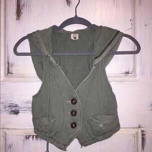 🍁Free People vest size XS👢👢
